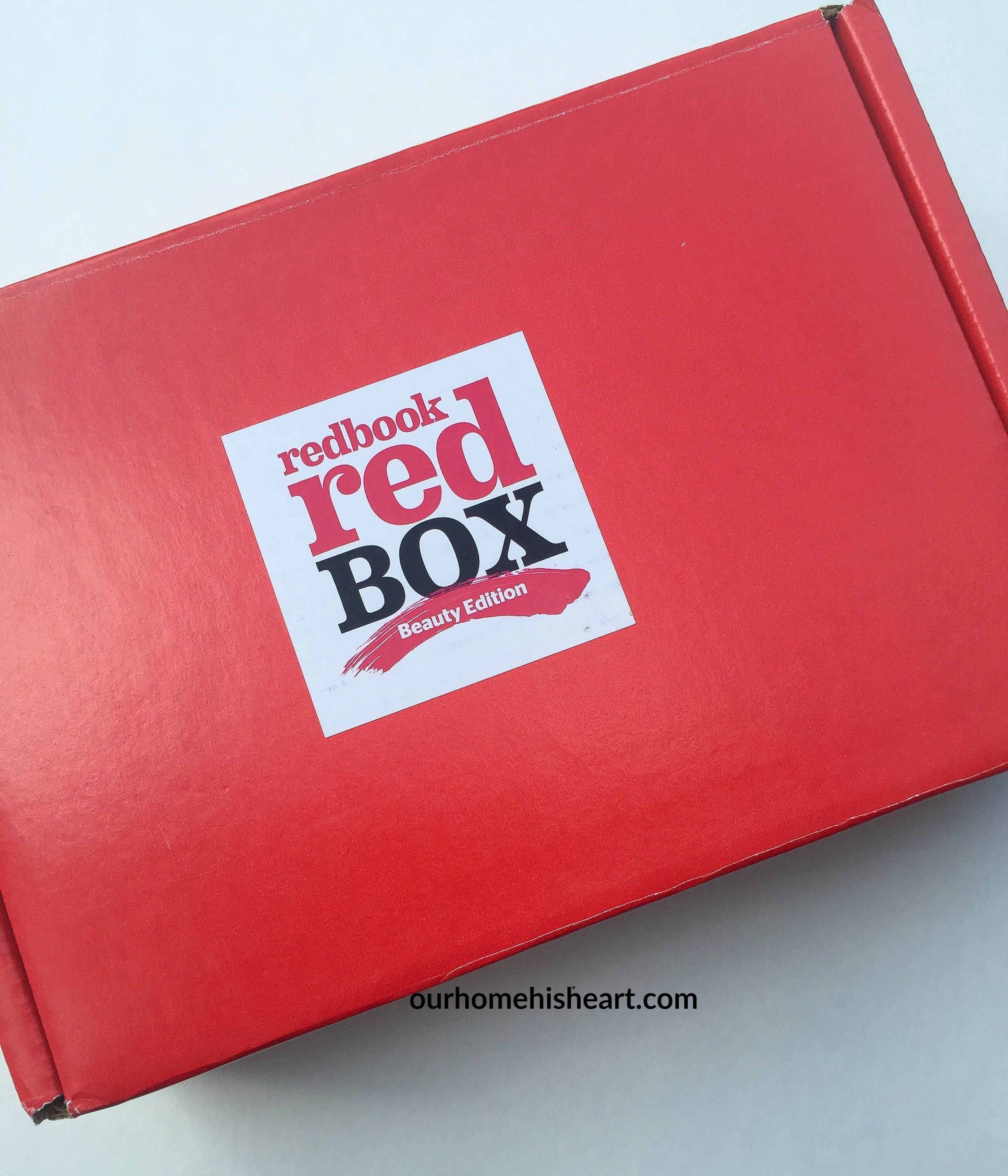 Redbook Red Box Beauty Edition Spring 2016