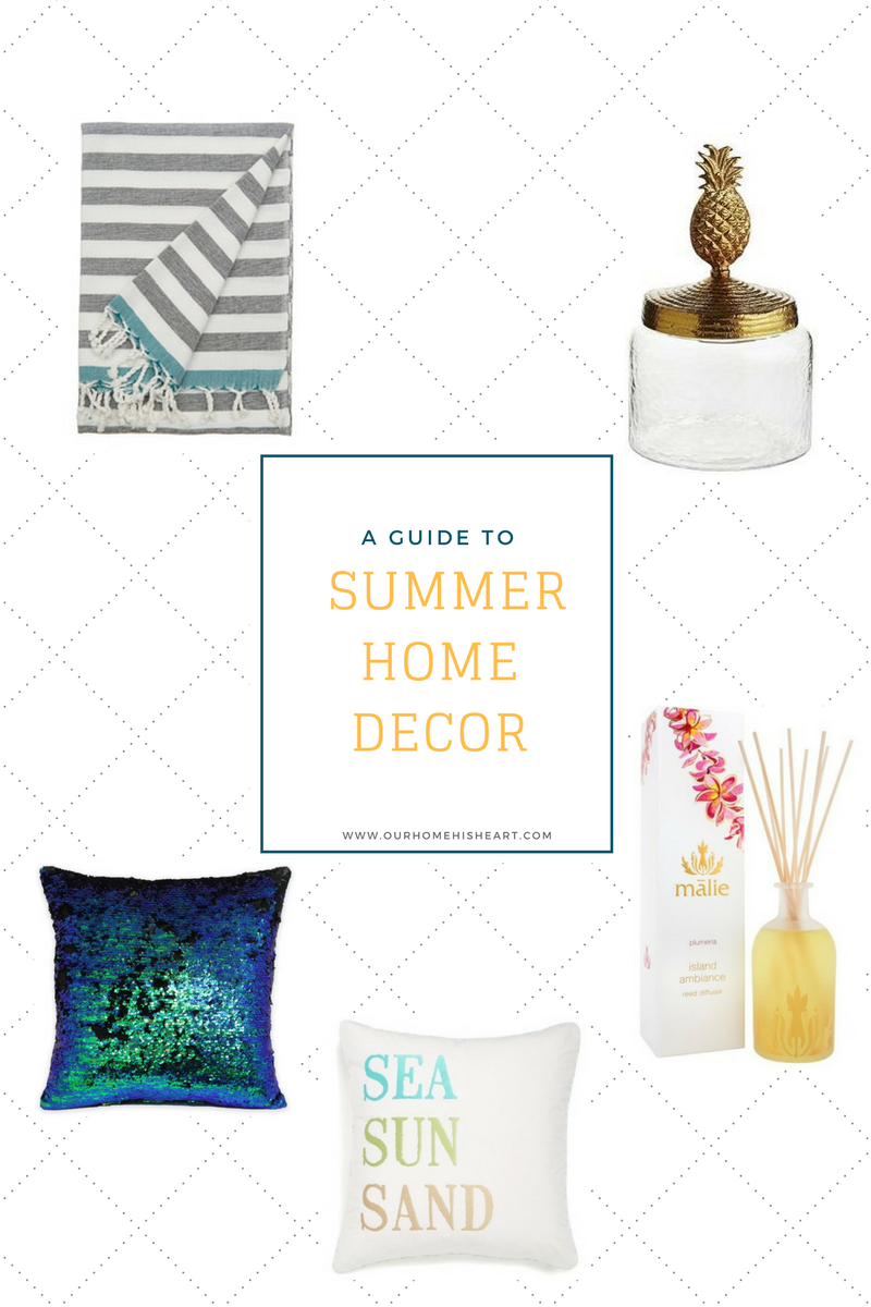 9 Easy Tips for Adding Summer Decor in Your Home