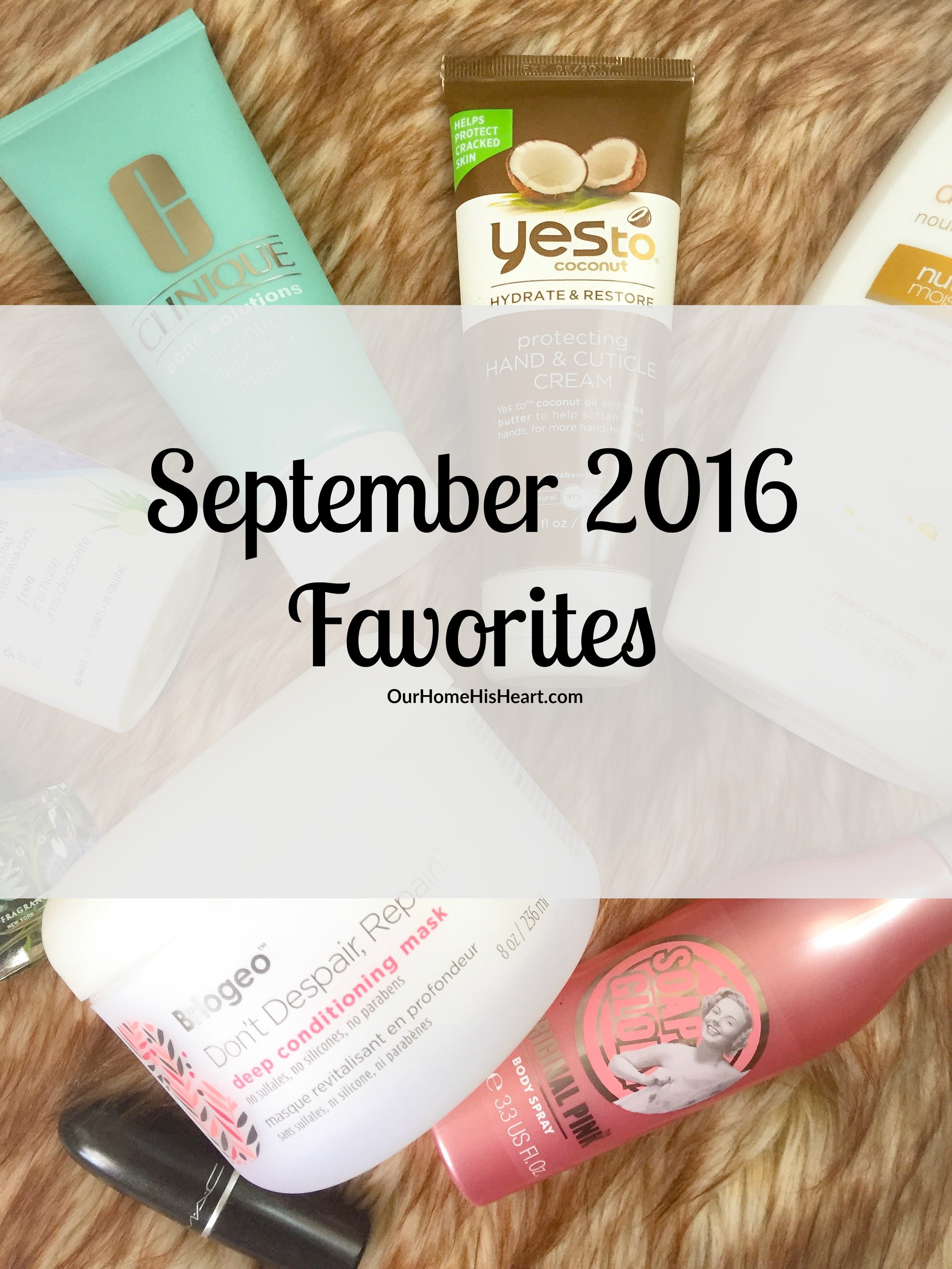 September 2016 Favorites