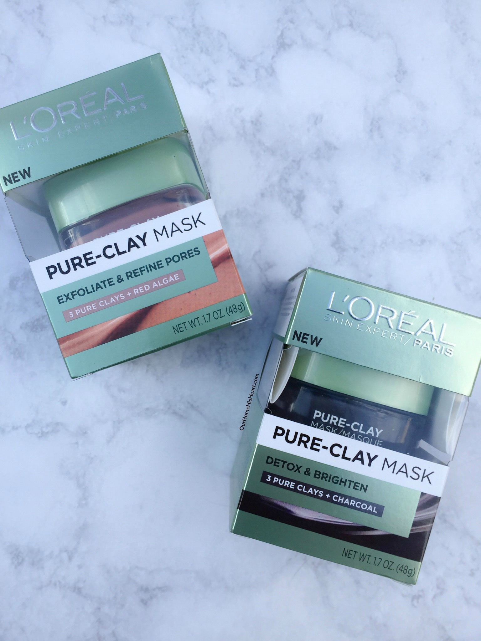 "L""Oreal Pure Clay Masks Review"