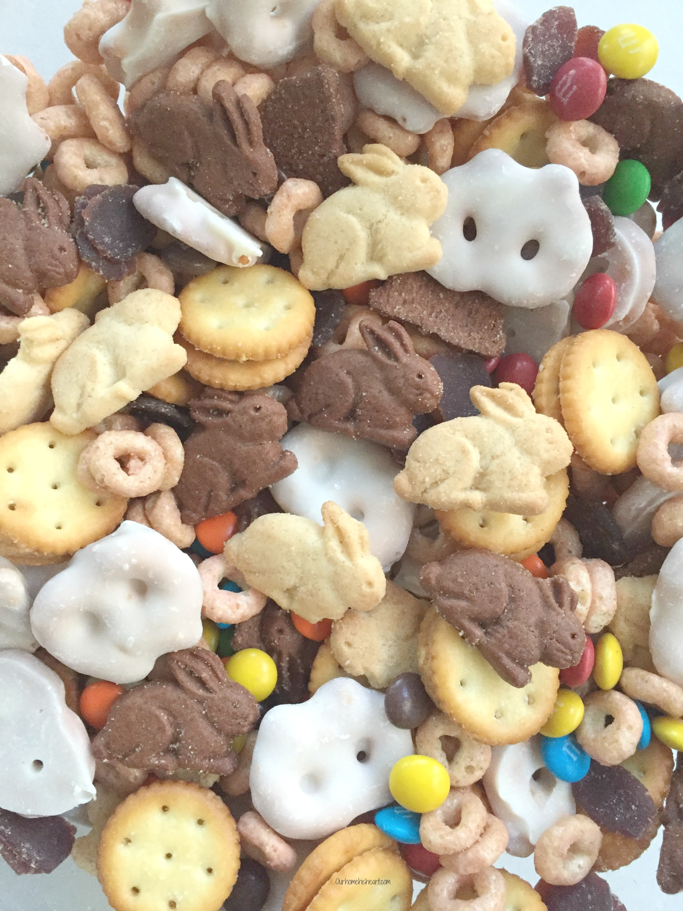 Bunny Trail Mix for Toddlers Gluten Free snack