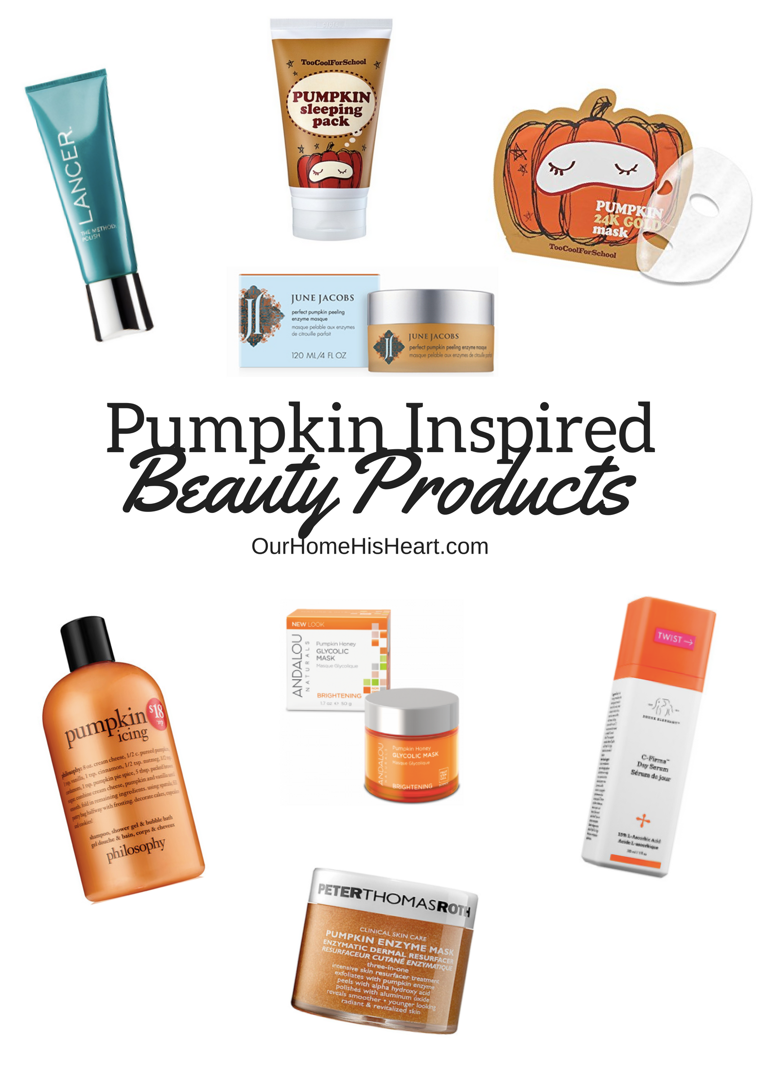 Pumpkin Inspired Beauty Products to Try